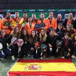 España consigue el pleno en el Campeonato Europeo de Pádel 2017