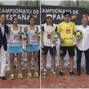 Las Gemelas Alayeto y Mieres-Galán, nuev@s campeones de España de pádel