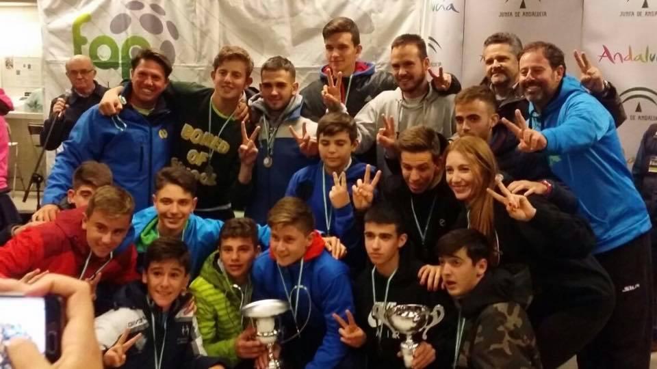 Granada y Málaga, campeonas en el andaluz de menores por selecciones
