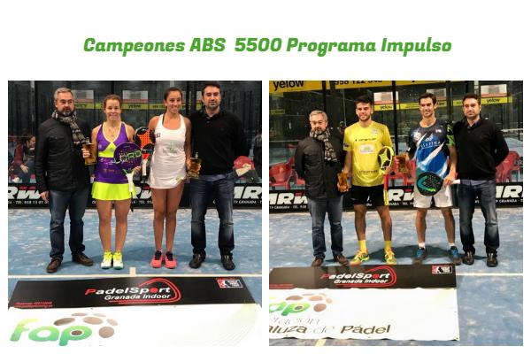 campeones del ABS 5500 del Programa Impulso
