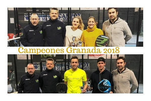 campeones absolutos de Granada 2018