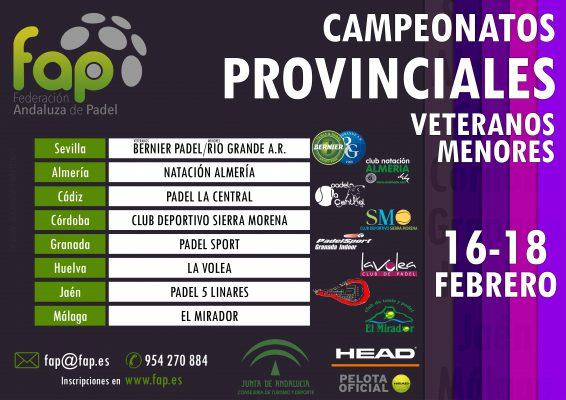 campeonato provincial de pádel