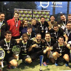El equipo granadino Feel Center Pádel, campeón de Andalucía por equipos