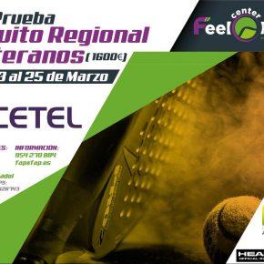 Abiertas inscripciones a la 2ª prueba del circuito andaluz de veteranos. Feel Center, 23-25 de marzo.