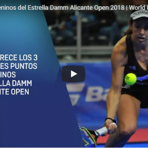 Video puntazos Estrella Damm Alicante Open 2018