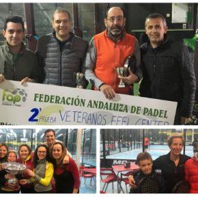 Más de 800 jugadores inundan Granada de pádel en la 2ª prueba del circuito andaluz de menores y veteranos.