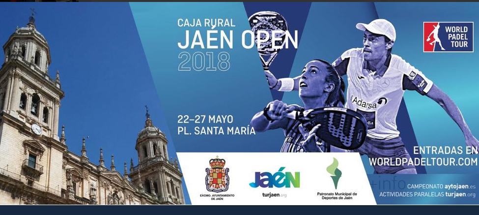 #Jaéncapitaldelpadel. Cuadros y horarios del Caja Rural Jaén Open