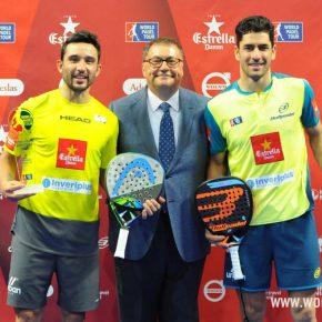 Sanyo Gutiérrez y Máxi Sánchez, campeones del Estrella Dam Zaragoza Open 2018