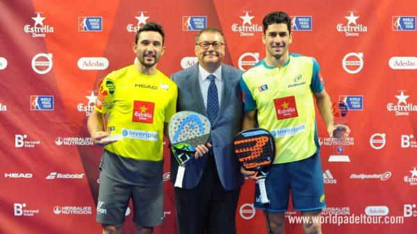 campeones del Estrella Dam Zaragoza Open 2018