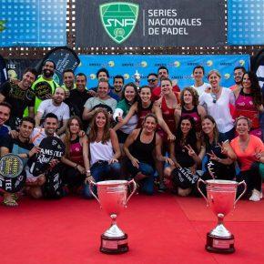 Granada conquista el Máster Nacional de las Series Nacionales de Pádel. Pádel Sport Granada Indoor y Four Pádel, campeones.