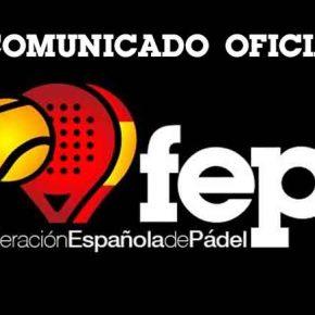 Lista de preseleccionados por España para el Mundial de pádel 2018