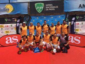 Feel Center, equipo campeón en Series Nacionales de Pádel 500. Pádel Poniente, subcampeón en Future.