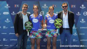 Gemma Triay y Lucía Sainz levantan su tercer trofeo en Valladolid y amenazan el trono de las Alayeto