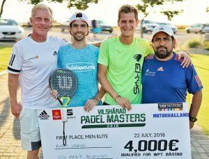 Comienza la previa final del Euro Finans Swedish Open. World Pádel Tour en Suecia