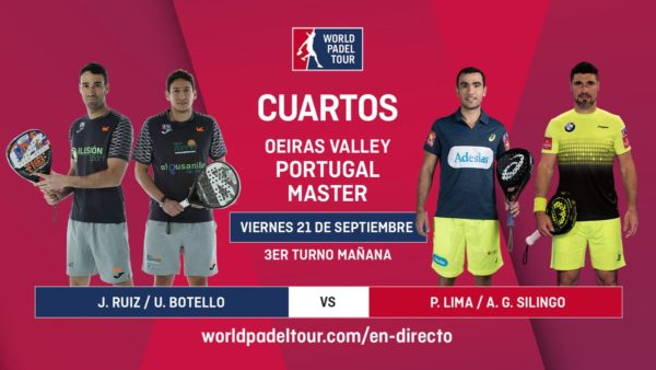 Sigue en directo los cuartos de final del Oeiras Valley Portugal Master