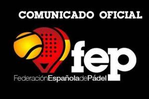 El pádel federado español en pie de guerra