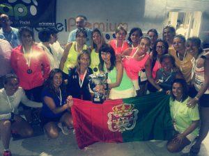 La selección femenina y masculina de veteranos de Granada, subcampeonas de Andalucía