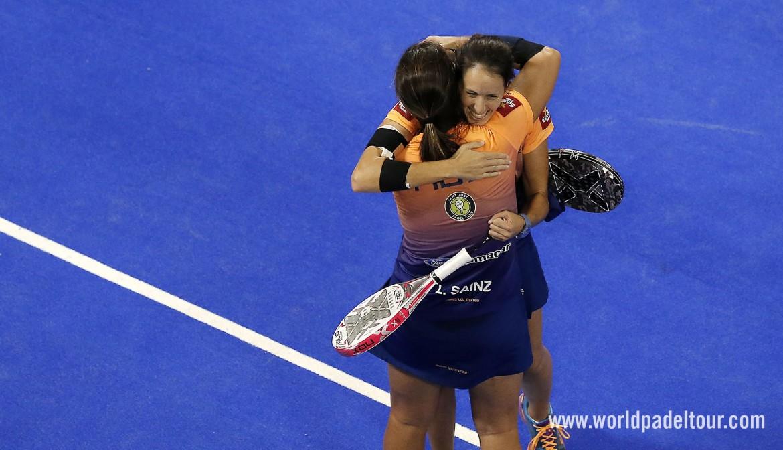Lucía Sainz y Gemma Triay, campeonas del Granada Open 2018