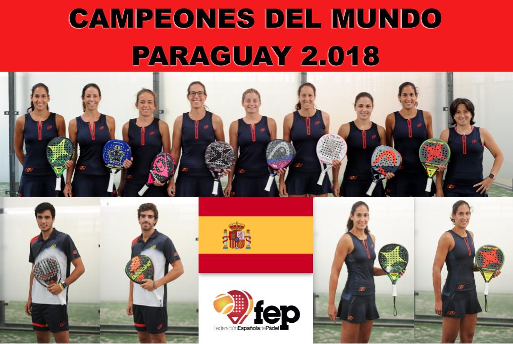 España brilla en el XIV Campeonato del Mundo de Padel. Esperpéntico final del Mundial
