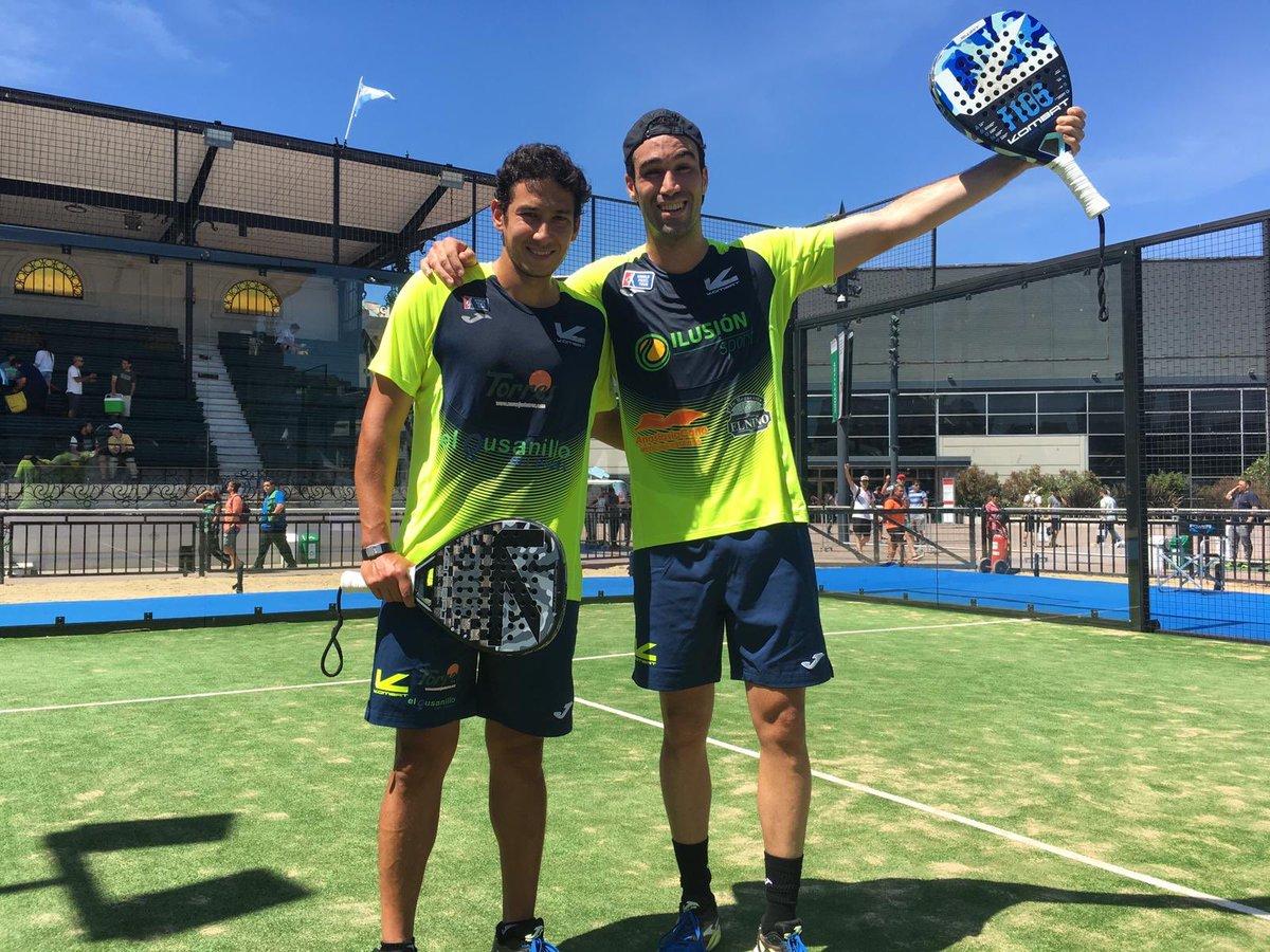Arranca con sorpresas el cuadro final del Buenos Aires Pádel Master 2018. Javi Ruiz y Uri Botello de nuevo en cuartos.