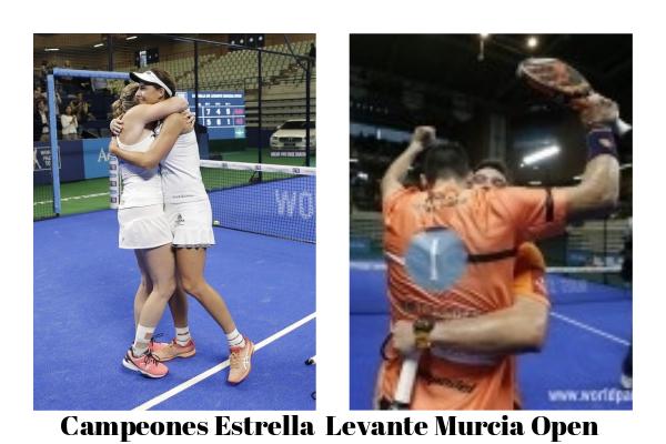 campeones del Estrella Levante Murcia Open 2018