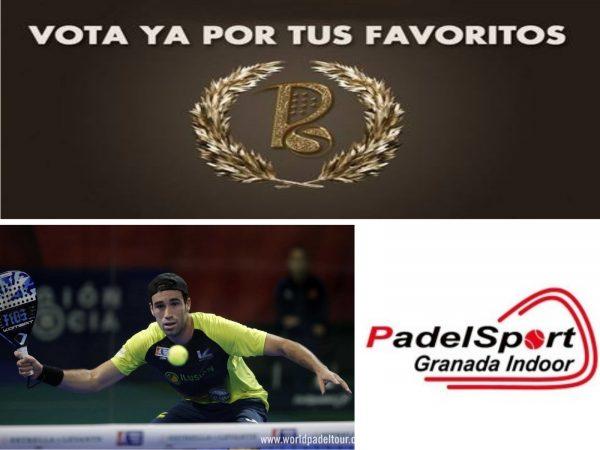 Javi Ruiz y Padel Sport Granada Indoor, candidatos a los premios World Padel Awards